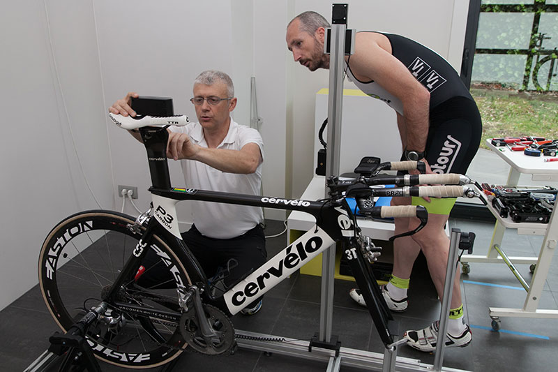 fietsanalyse Bike Run Lab