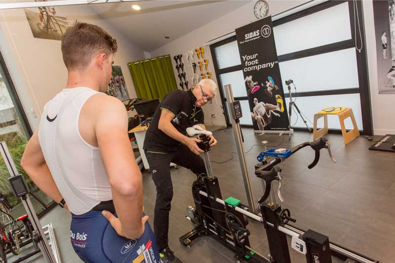 Lichaamsmaten opmeten Bike Run Lab